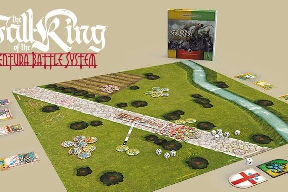 General view of the Fall of the King box set