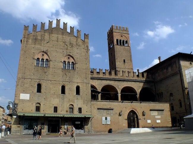 Palazzo Re Enzo, in Bologna